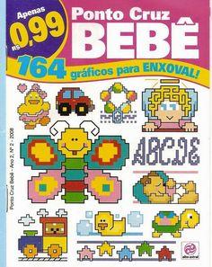 Revistas de manualidades Gratis: Revista Punto de Cruz para Bebes