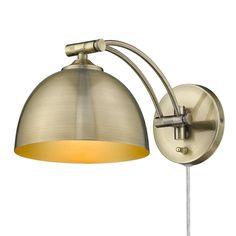 Wall Sconce Lighting, Wall Sconces, Task Lighting, Brass Sconce, Wall Lights, Ceiling Lights, Thing 1, Light Bulb Bases, Lighting Store