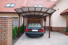 Decoration: Wooden Brown Carport Designs, carport designs attached ...