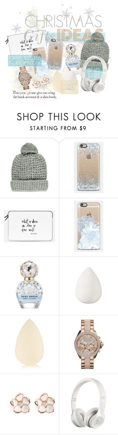 """Christmas Gifts Ideas #santaiscoming"" by majksister ❤ liked on Polyvore featuring Forever 21, Marc Jacobs, beautyblender, Shaun Leane and Beats by Dr. Dre"