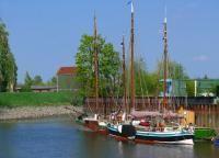 Hafen in Stade