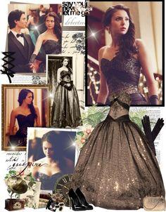 Vampire Diaries. Elena Gilbert's ball gown