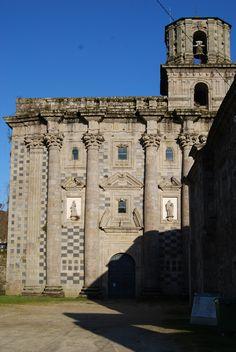 Monastery of Monfero in Galicia, La Coruña.  Spain