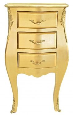 Baroque Style Bedside Table by Royal Art Palace