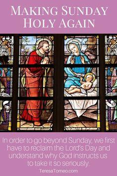 Making Sunday Holy Again - Teresa Tomeo