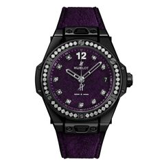 Hublot Big Bang One Click Italia Independent -  The Hublot Big Bang One Click Italia Independent is for women but its size of 39 millimeters makes it more unisex  -  Your Watch Hub