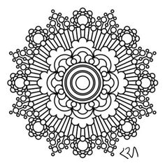 gunston coloring pages   Printable Intricate Mandala Coloring Pages, Instant ...