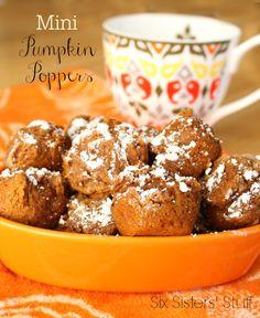 Mini Pumpkin Poppers
