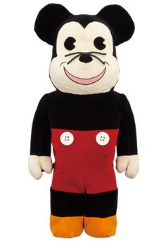 f0be7d9e MEDICOM TOY - WORLD WIDE TOUR BE@RBRICK 400% MICKEY MOUSE Popular Toys,