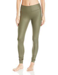 AmazonSmile: Alo Yoga Women's Airbrush Legging, Jungle Glossy, S: Clothing