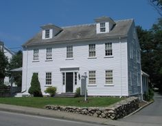 """This is known as the """"Harriet Beecher Stowe House"""" in Natick, MA."""
