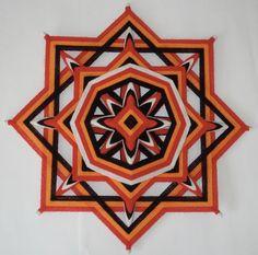 Native Healing - Ojo de Dios - Yarn Mandala