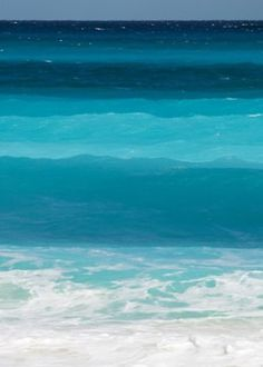 Turquoise water...