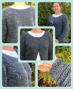 A crochet cardigan pattern - the Stargazer Cardigan - a fun cardigan crochet pattern - crochet for yourself - learn a new crochet stitch - the star stitch.