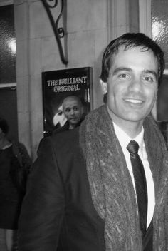 """That guy in the background is like, """"holy crap....is that Ramin karimloo?""""  At least that's what I'd be saying."""