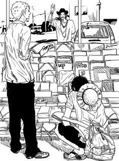 Luffy y Zoro One Piece Ace, One Piece Manga, One Piece Series, One Piece Funny, Tv Series, One Piece Pictures, One Piece Images, Manga Anime, Anime Guys