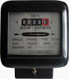 """Single phase induction type energy meter is also popularly known as watt-hour meter. Driving system consists of two electromagnets, called """"shunt"""""""