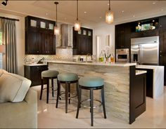42 Best Kitchen Island Bar Wall Ideas Images In 2016 Kitchens