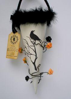 Beautiful vintage halloween decoration ideas (2)