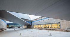 Museum von BIG bei Kopenhagen eröffnet / Rampen-Zick-Zack - Architektur und Architekten - News / Meldungen / Nachrichten - BauNetz.de