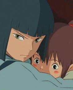 Spirited Away| Haku and Chihiro