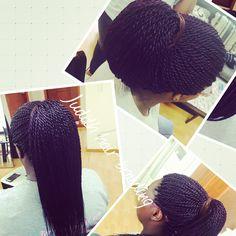 Long Senegalese twist!! Long braid !!