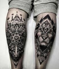 10 awesome leg tattoos for men ideas leg tattoo men wrist tattoo pattern tattoos mandala tattoo Best Leg Tattoos, Trendy Tattoos, Unique Tattoos, Body Art Tattoos, Cool Tattoos, Maori Tattoos, Tattoo Art, Small Tattoos, Lion Leg Tattoo