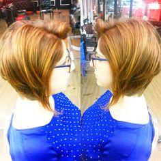 Redhead Effect By Roni César #circushair #circuspamplona #hair #cut #color #redhead #fashion #style