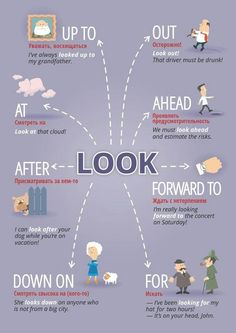 phrasal verbs with look