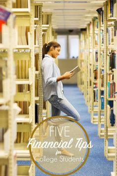 Five financial tips for college students