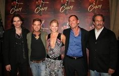 Steve Vai, Waylon Payne, Ali Larter, Rick Bieber and Ray Scherr at the premiere for Crazy.