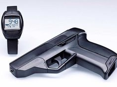 12. The Armatix iP1 can't be used against you: it requires its fingerprint-enabled watch to be within 25cm of it to fire.