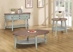 Lakeview by Tennessee .we Have The Beautiful Seafoam Cocktail Table & Ends in-stock! Hardwood Furniture, Home Furniture, Wholesale Furniture, Cocktail Tables, Dining Set, Tennessee, Home Office, Bar Stools, Living Rooms