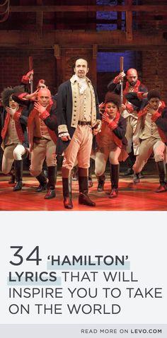 34 'Hamilton' Lyrics