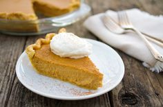 Recipe for pumpkin custard pie