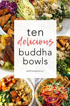 Buddha Bowls Harvest Bowls Veggie Bowls Whatever you call them. They are my favorite go to dish in the whole world! These balanced bowls are so versatile and can take on any type of flavor plus its an easy way to get in a serving of whole grains and v Veggie Recipes, Healthy Dinner Recipes, Whole Food Recipes, Veggie Bowl Recipe, Recipe Bowl, Tahini Recipe, Avocado Recipes, Dinner Recipes For Kids, Rice Recipes