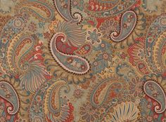 upholstery fabric King Hickory Mixit Multi 7557-11