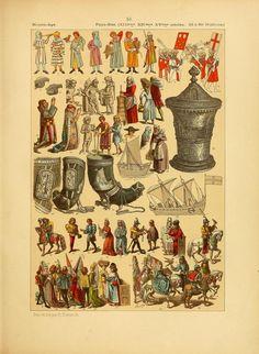 more@ - 1896 - v2 - Le costume, les armes, les bijoux, la céramique, les ustensiles, outils, objets mobiliers, etc. : chez les peuples anciens et modernes by Hottenroth, Friedrich