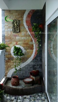 Balcony Vs Patio is categorically important for your home. Whether you the B Balcony Plants Small Balcony Decor, Small Balcony Garden, Balcony Plants, House Plants Decor, Terrace Garden, Plant Decor, Balcony Ideas, Modern Balcony, Small Balcony Design