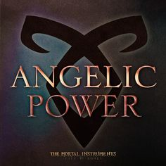 The Angelic Power rune was first seen in the movie TMI: City of Bones, where Clary Fray repeatedly sees this symbol and draws it out.
