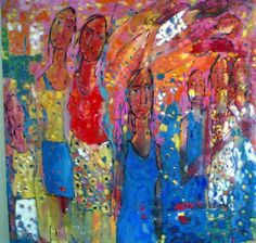 By the Iraqi artist & poet Abd Al-Latif Ataymish