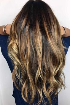 Blonde highlights are a timeless color technique that seems be here for the long haul. They are great way to lighten up any color of hair. They can dimensional and shine to your locks for a much needed change.#haircolor#hairstyle#haircut