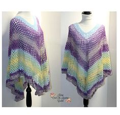 Mesh Poncho Crochet Pattern - Lace Over Brook Poncho - Small to XL - to - Summer Fall Fashion - Krissys Over The Mountain Crochet Crochet Wrap Pattern, Crochet Poncho Patterns, Crochet Shawl, Crochet Hooks, Free Crochet, Crochet Top, Shawl Patterns, Crochet Scarves, Knitting Patterns