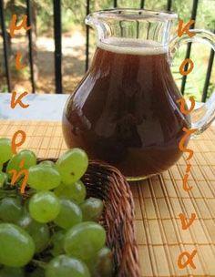 μικρή κουζίνα: Μούστος-Πετιμέζι Greek Beauty, Greek Recipes, Food Hacks, Food Tips, Caramel Apples, Lemonade, Wines, Food And Drink, Cooking