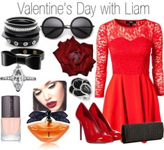 """Valentine's Day with Liam"" by onedoutfits269 ❤ liked on Polyvore"