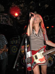 """""""It's amazing how many things you can do when you're just pretending."""" Kim Gordon, bassist - Sonic Youth"""