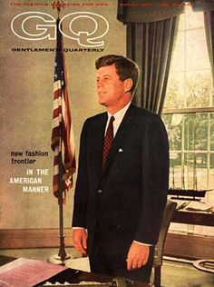 1962. Kennedy: Vintage GQ Cover