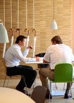 Hot Desk Areas :: microsoft 04 Hotdesking at Microsofts Amsterdam Headquarters