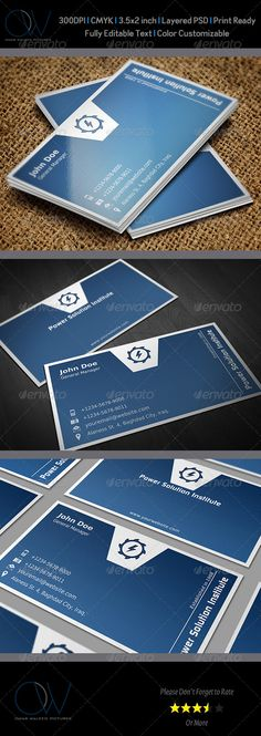 "Corporate Business Card Template Vol.38  #GraphicRiver                               	 Business Card Description: Corporate Business Card Template Vol.38 was designed for exclusively corporate and small scale companies. Also it can be used for variety purposes like printing, designing ID. Click on preview image to see further details. I hope you like it guys.  	 Business Card Featured:   Fully Layered PSD files   Easy Customizable and Editable   3.5"" x 2"" (3.75"" x 2.25"" with bleed setting)…"