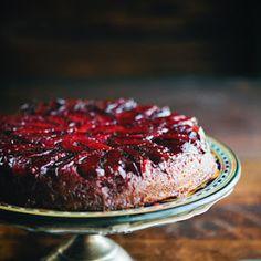 Upside Down Plum Cake Recipe | Yummly